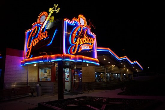 Galaxy Diner: Buitenkant