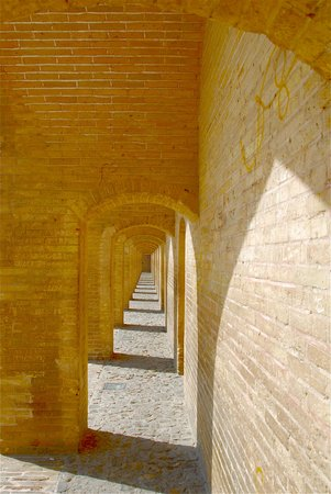 Pont de Khajou : Le arcate