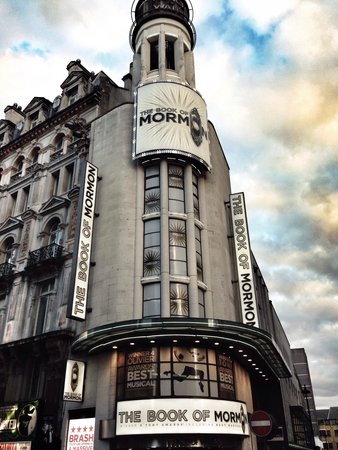 The Book of Mormon London : Awesome, simply awesome show.