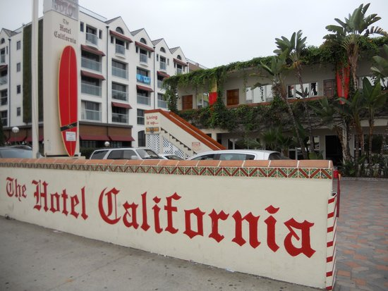 The Hotel California: Front of the Hotel