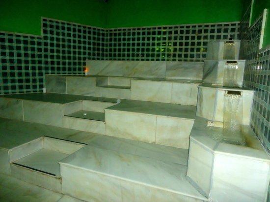 Bain chaud pierre froide fotograf a de el hammam open - Spas en malaga ...