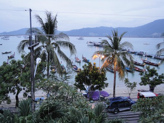 Seaview Patong Hotel: View from the Room