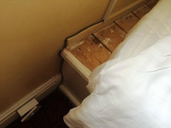The Royal Victoria Hotel Snowdonia: Home-made bed