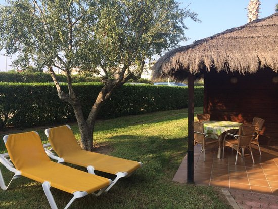 Cambrils Park Resort : Aloha Bungalow - terrace