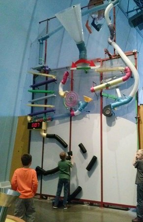 Center of Science and Industry (COSI): The most popular exhibit - entertains kids for ages.