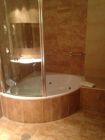 AC Hotel Carlton Madrid: the shower/tub