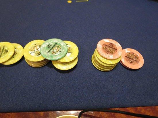 Casino' di Venezia: chips
