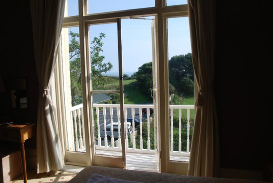 Ventnor Towers Hotel: view from our room