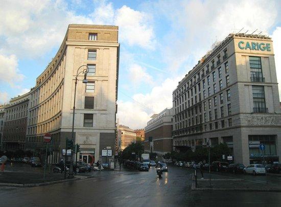 Via XX Settembre : Junction of Via Barberini and Via di Santa Susanna