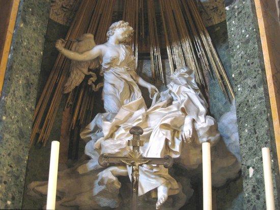 Via XX Settembre : St Teresa by Bernini