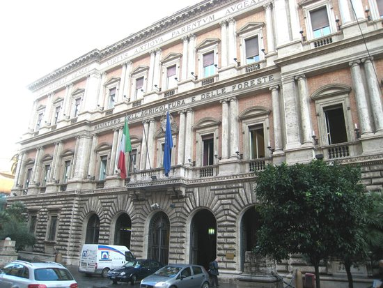 Via XX Settembre : Ministry of Agriculture and Forstry