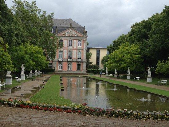 Kurfürstliches Palais: Романтичное место