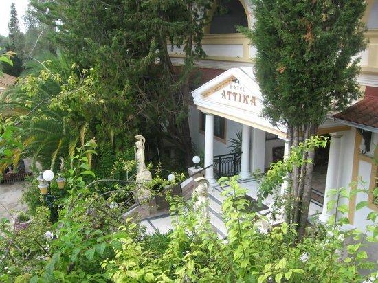 Attika Beach Hotel: vstup do hotelu