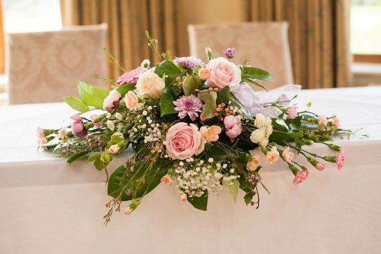 Best Western Garstang Country Hotel And Golf Centre: Flowers provided by the venue