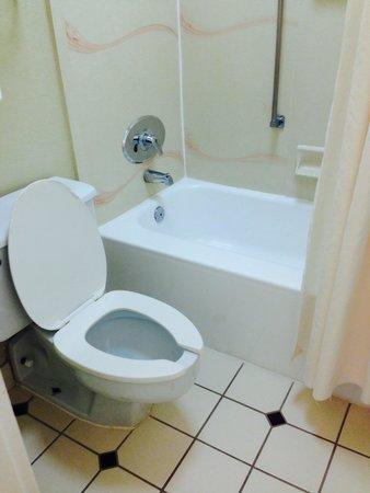 Howard Johnson Plaza Altamonte Springs Orlando North: Bathroom