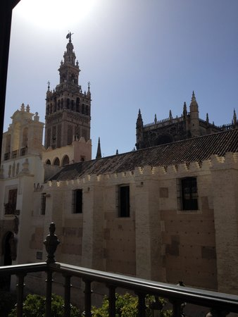 Puerta Catedral Apartments: From the balcony