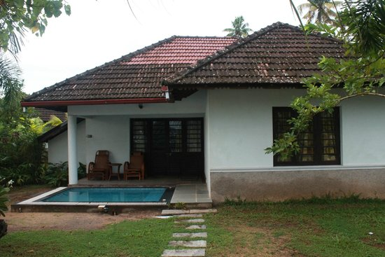 Club Mahindra Cherai Beach: The one bedroom cottage we stayed in