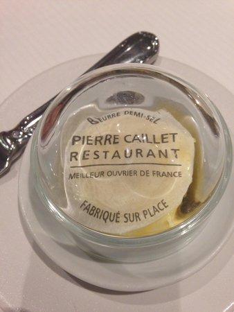 Restaurant Pierre Caillet: Beurre demi-sel maison