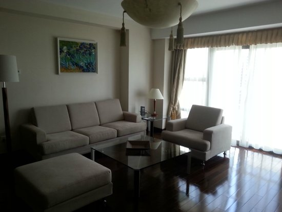 Fraser Place Shekou Hotel Shenzhen: Гостиная
