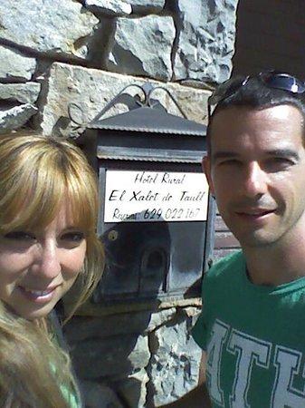 El Xalet De Taull Hotel Rural : Robert y Yoli