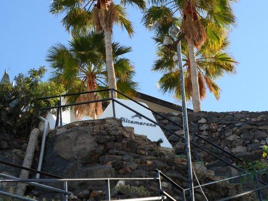 IFA Altamarena Hotel : Villas IFA Altamarena in Jandia - Zugang/Aufgang zur Anlage