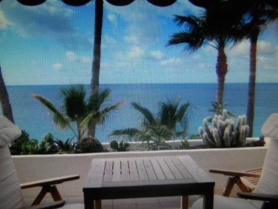 IFA Altamarena Hotel : Villas IFA Altamarena in Jandia - Ausblick auf das Meer / Strand
