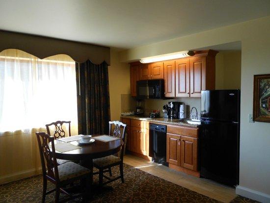 Avenue Plaza Resort: Kitchenette in one-bedroom unit