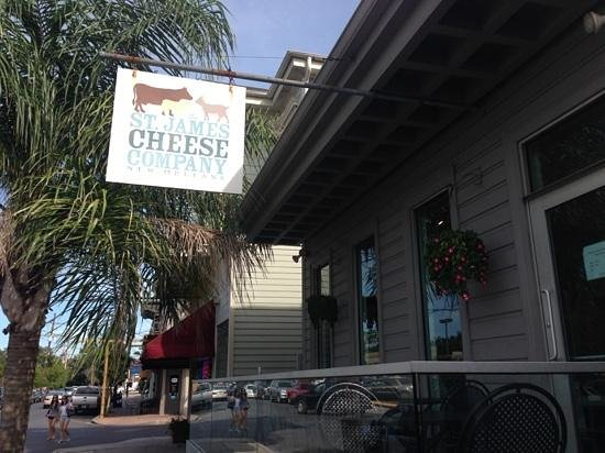 St James Cheese Company: You have arrived !