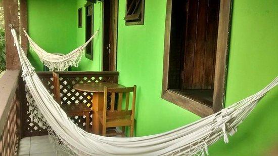 Hotel Vale Verde : varanda do quarto