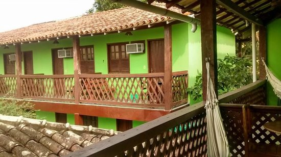 Hotel Vale Verde : vista da varanda