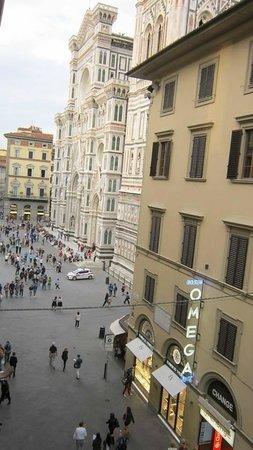 Costantini: Panorama dalla finestra della camera