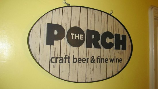 Seating room picture of the porch craft beer wine for Craft beer key west