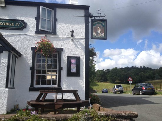 King George IV Restaurant: The George IV: its rural setting