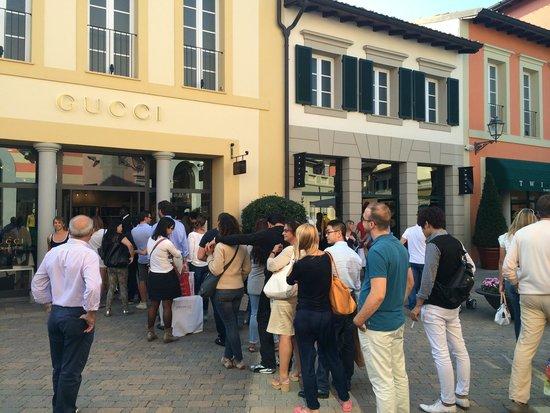 Serravalle Scrivia, Italia: Gucci -shopping jam :)