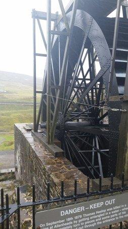 Killhope Lead Mining Museum: 1900 water power