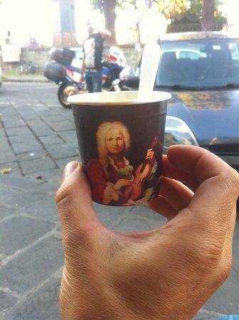 Gelateria Cioccolateria Vivaldi : Coppetta di livello.