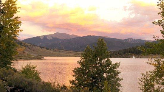 Dillon Reservoir: September Sunset