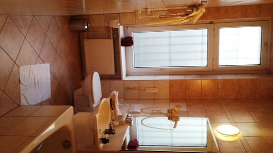 Hotel Grand: Bath room