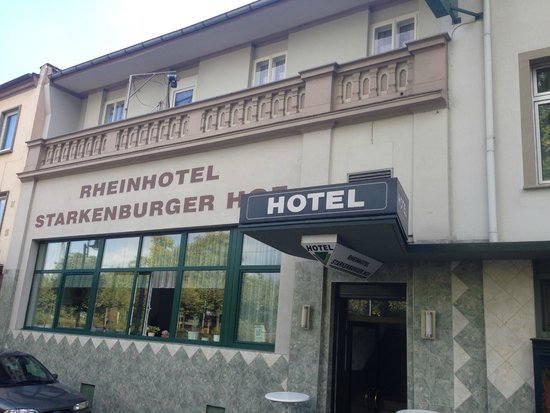 Rheinhotel Starkenburger Hof: outside view