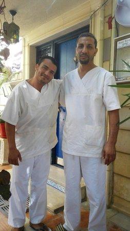 Hammam Anti Stress: Nos deux masseurs
