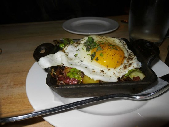 CARAMELIZED BRUSSELS SPROUTS HASH Ginger Apples, Pancetta ...
