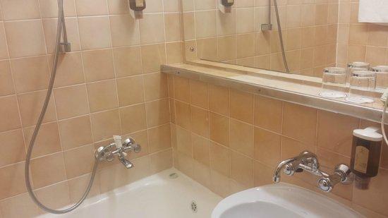 Metropol Hotel: Clean bath room (but tub was worn)