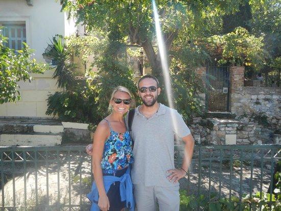 Athens Free Walking Tour : Me and George!