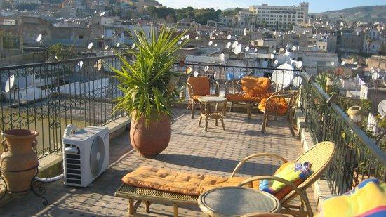 Riad Kettani FES: Toit terrasse de l'hotel