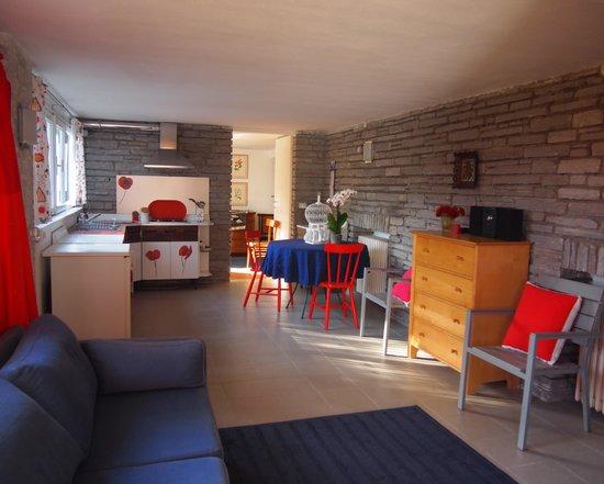 Soggiorno Con Divano Letto : soggiorno con divano letto della suite ...