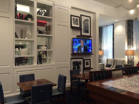Hampton Inn Washington, D.C./White House: Breakfast area