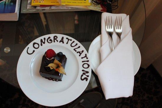 Steigenberger Hotel Herrenhof Wien: Anniversary wishes