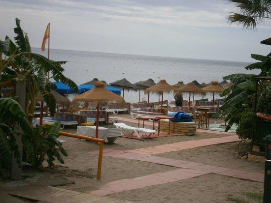 La Carihuela : beach at carihuela
