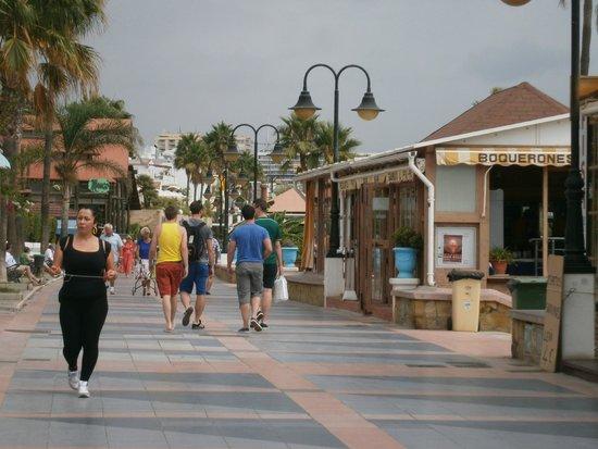 La Carihuela : promenade carihuela