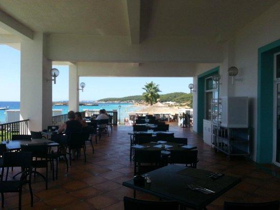 terrazza  picture of sol beach house menorca, santo tomas, Beach House